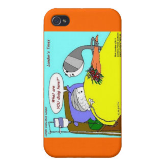 Golfball Hospital Funny Cards Mugs & Gifts iPhone 4 Cover
