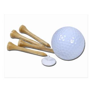 GolfBallMarkerTees020511 Postcard