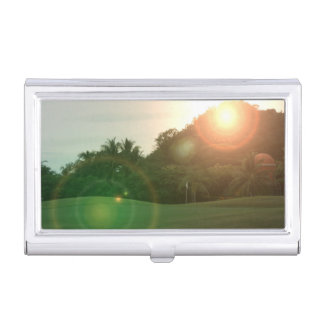 golfcourse business card holders