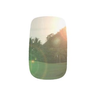 golfcourse nail sticker