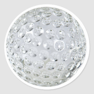 GolfCrystalBallonly092110 Round Stickers