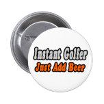 Golfer...Add Beer Badges