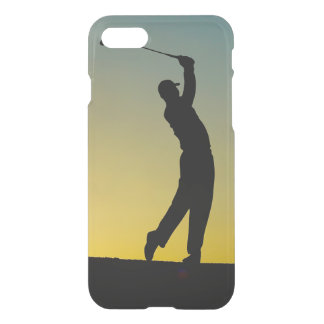 Golfer at Sunset iPhone 8/7 Case