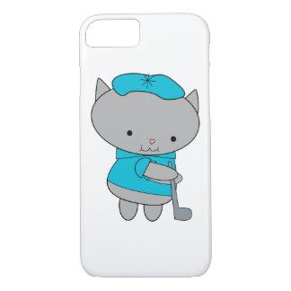 Golfer Cat iPhone 7 Case