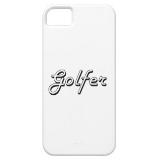 Golfer Classic Job Design iPhone 5 Covers