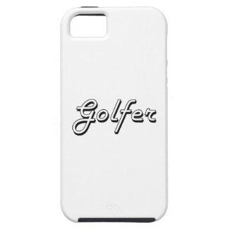 Golfer Classic Job Design iPhone 5 Cases