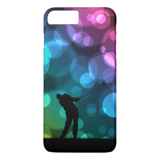 Golfer Driving Bokeh Graphic iPhone 7 Plus Case
