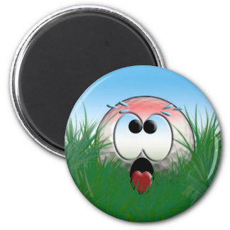 Golfer Gift Idea Golf Player Golfball Humor Funny 6 Cm Round Magnet
