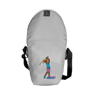 Golfer-girl 4 commuter bags