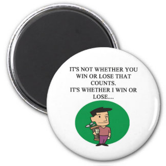 golfer golfing golf joke gifts t-shirts magnet