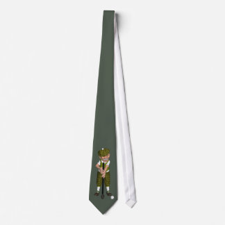 Golfer Golfing Tie For Any Occasion