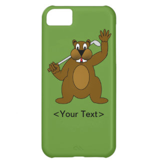 Golfer Gopher Just Go'fer It! iPhone 5C Case