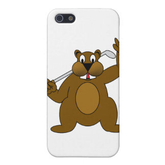 Golfer Gopher Just Go'fer It! Case For iPhone 5/5S