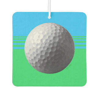 Golfer Inside car air freshener (2-sided)