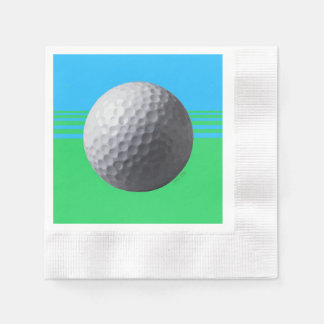 Golfer Inside cocktail coined paper napkins Disposable Napkin