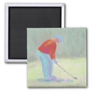 Golfer Magnet