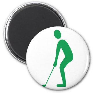 Golfer Kühlschrankmagnete