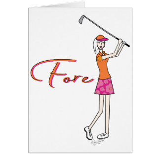 Golfer_Palm Beach Lady Collection Card