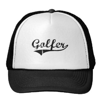 Golfer Professional Job Mesh Hat