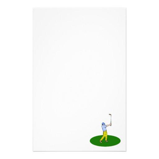 Golfer Stationery