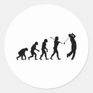 Golfer Stickers