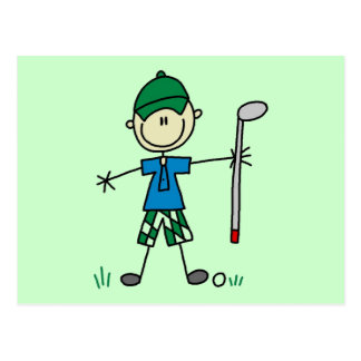 Golfer Tshirts and Gifts Postcard