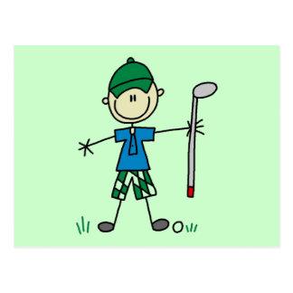 Golfer Tshirts and Gifts Postcard