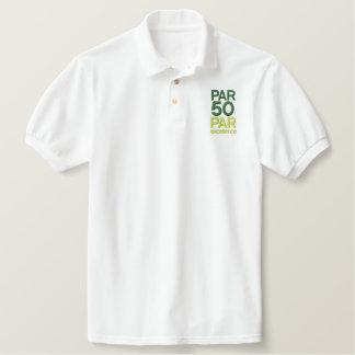 Golfers 50th Birthday Party Shirts Polo Shirts