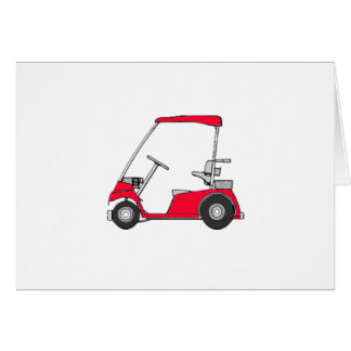 Golfer's Birthday Card