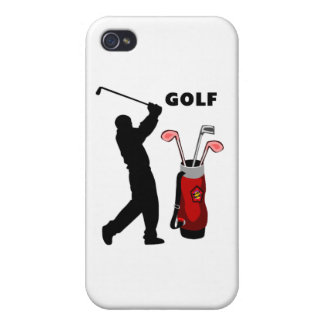 Golfers Cover For iPhone 4