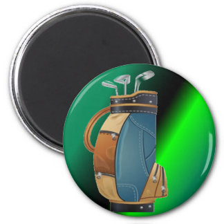Golfers Gift Collection 6 Cm Round Magnet
