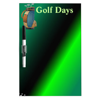 Golfers Gift Collection Dry Erase Board