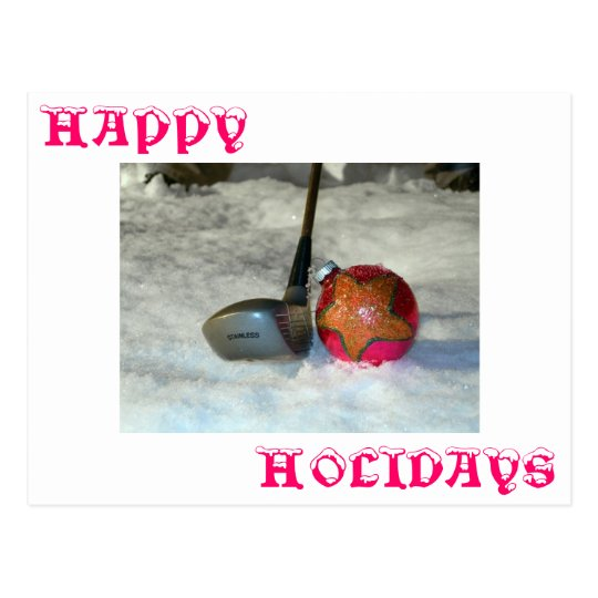 Golfers Greetings Postcard
