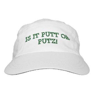 "GOLFERS HAT/CAP ""IS IT PUTT OR PUTZ"" FUNNY HAT"