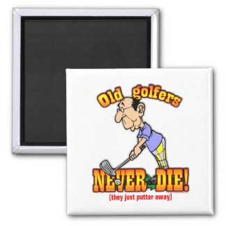 Golfers Fridge Magnets