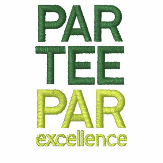 Golfers Par Tee Party Shirts Embroidered Shirts