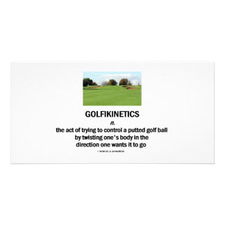 Golfikinetics Photo Card