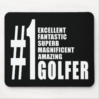 Golfing and Golfers : Number One Golfer Mouse Pad