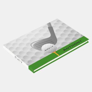 Golfing Design Guest Book