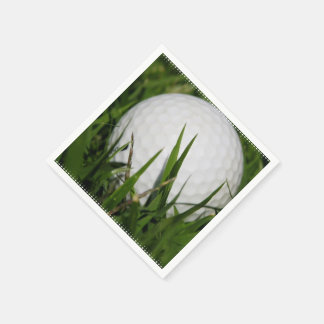 Golfing Disposable Serviette