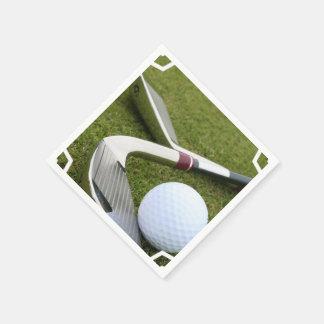 Golfing Disposable Serviettes