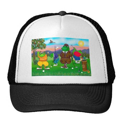 Golfing Frogs - Tournament Trucker Hat