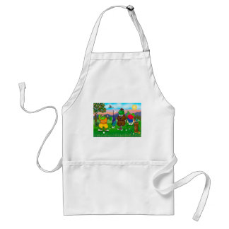 Golfing Frogs - Tournament Standard Apron