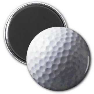 GOLFING Gift Collection 6 Cm Round Magnet