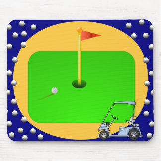 Golfing Green Mouse Mat