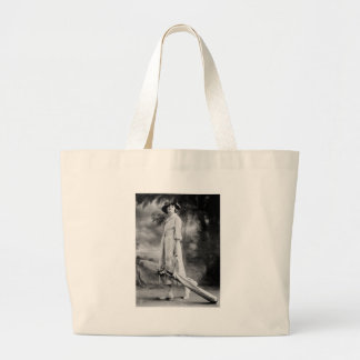 Golfing in Style 1920s Canvas Bag