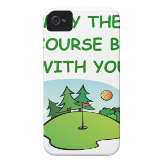 golfing iPhone 4 covers
