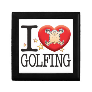 Golfing Love Man Gift Box