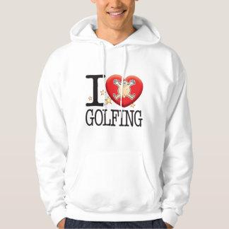 Golfing Love Man Hoodie