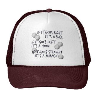 Golfing  Miracle Trucker Hat